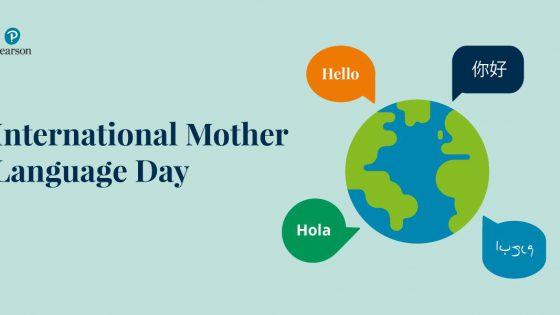 Zdjęcie Pearsona o Międzynarodowym Dniu języka Ojczystego