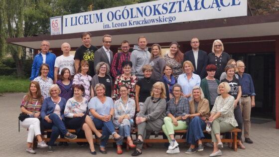 Zdjęcie grona pedagogicznego 2021r.